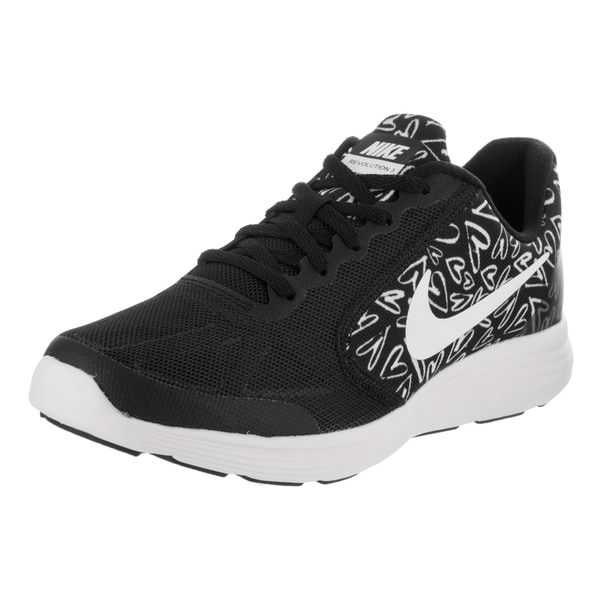 Nike Kids Revolution 3 Print (GS) Running Shoe 27304497