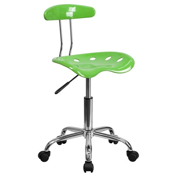 Saddle Lime Home Office Chair with Tractor Seat 27446513