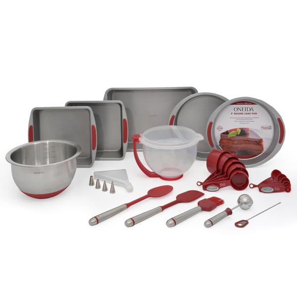 Oneida Silicone 36-Pc Cake Set 27446659