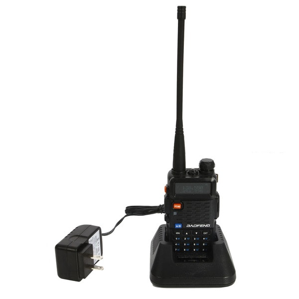 UV-F8+ Dual-frequency Dual-display Dual-waiting Dual-section Ultra Long Distance Walkie Talkie US Standard Black 27476210