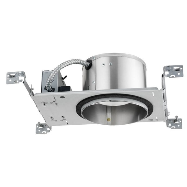 Juno Lighting IC22LED G4 06LM 27K 90CRI 120 FRPC 6-inch IC Rated New Construction Recessed Housing, 27K, 600 Lumens, MVOLT 27509712