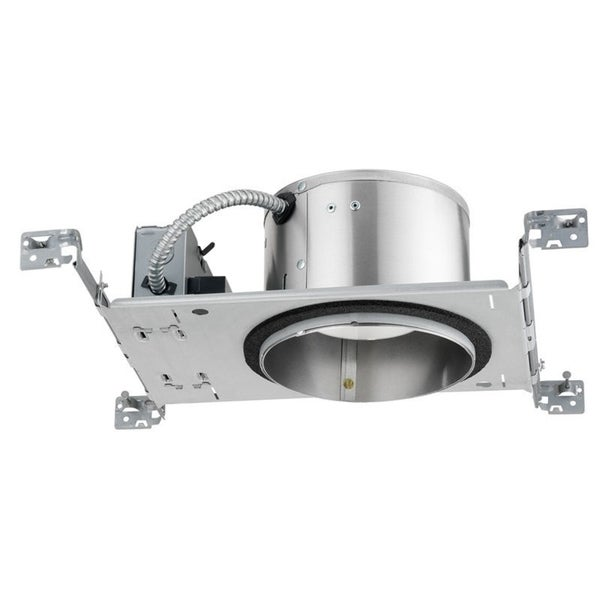 Juno Lighting IC22LED G4 06LM 35K 90CRI 120 FRPC 6-inch IC Rated New Construction Recessed Housing, 35K, 600 Lumens, 120V 27509714