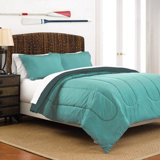 Porch & Den Alvarado Reversible Solid Comforter Set