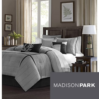 Madison Park Meyers 6-Piece Duvet Cover Set