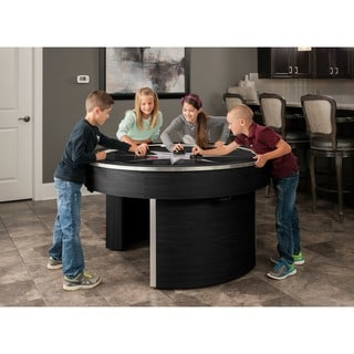 Orbit Eliminator Black 4-player Air Hockey Game Table