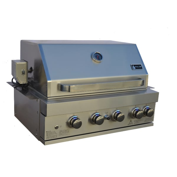 """Mont Alpi Built in 400 32"""" Gas Grill 27559972"""