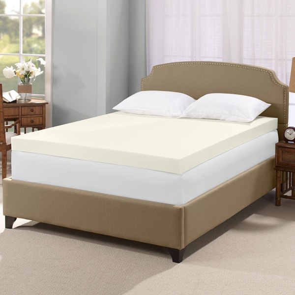 Serta Ultimate 4-inch Visco Memory Foam Mattress Topper (Queen)(As Is Item)