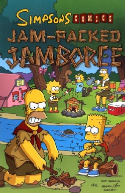 Simpson Comics: Jam-packed Jamboree (Paperback)