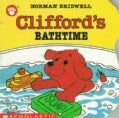 Clifford's Bathtime (Board book)