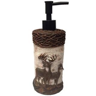 Laural Home Majestic Deer Soap/Lotion Pump