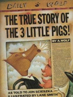 The True Story of the 3 Little Pigs (Hardcover)
