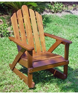 Acacia Adirondack Rocking Chair