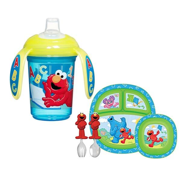 Munchkin Sesame Street Complete Toddler Dining Set 27673897