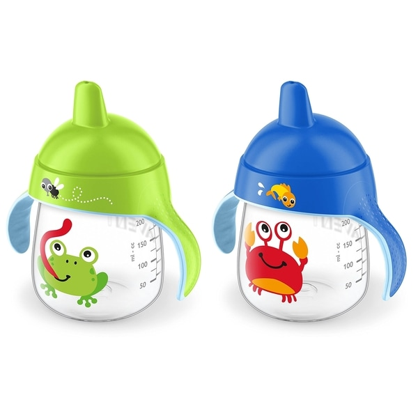 Philips Avent My Little Sippy Cup - 9 Ounce - 2 Pack - Crab/Frog 27674155