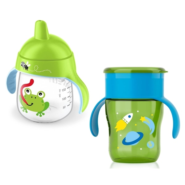 Philips Avent My Natural Drinking Cup & My Little Sippy Cup Set 27674329