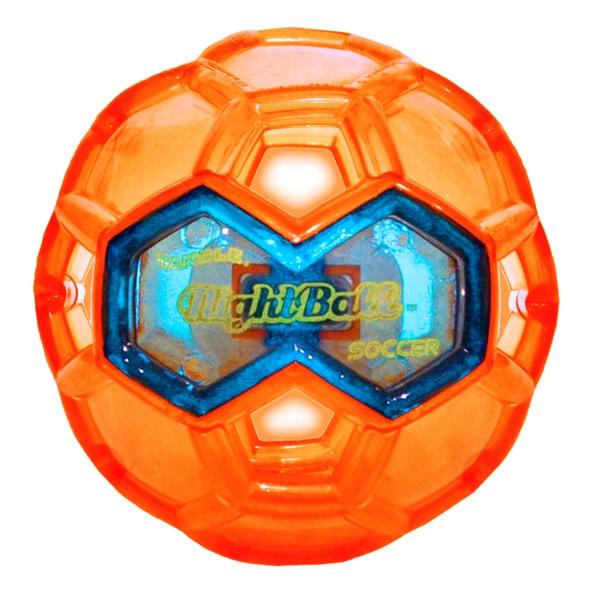 Tangle Large LED Orange Night Soccer Ball 27674433