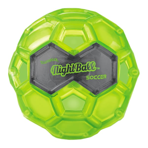 Tangle Large LED Green Night Soccer Ball 27674435