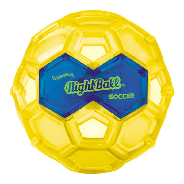 Tangle Large LED Yellow Night Soccer Ball 27674436