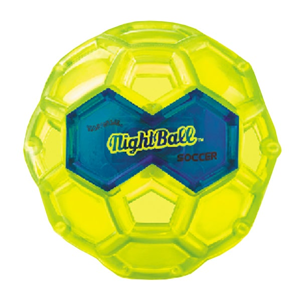 Tangle Small LED Green Night Soccer Ball 27674437