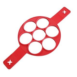 Flippin Non Stick Pancake Maker Perfect Silicone Egg Pancake Mold Easy Kitchen Tool