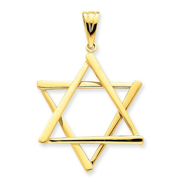 14 Karat Star of David Pendant with 18-inch chain 27682907