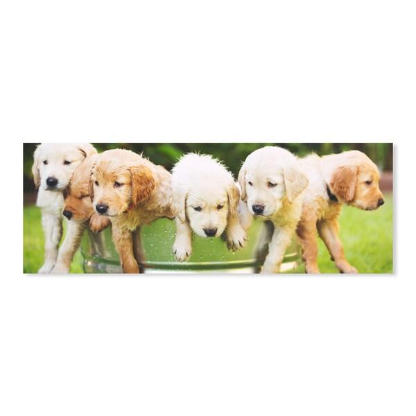 Melissa & Doug 1000 Piece Puppy Pail Cardboard Jigsaw 27684533
