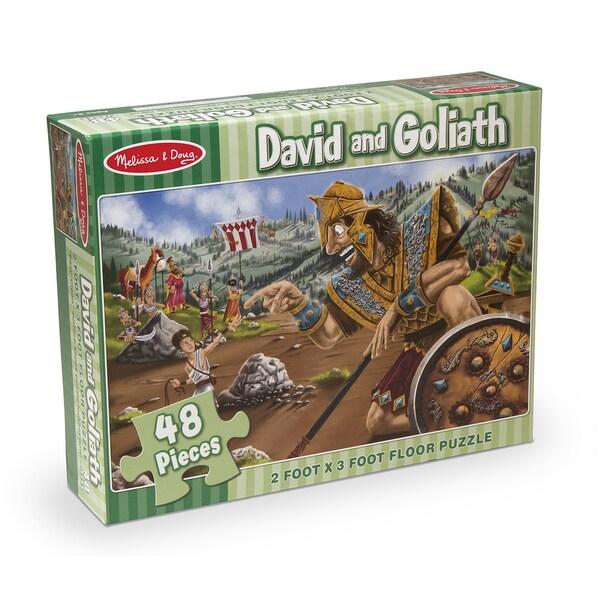 Melissa & Doug David & Goliath Floor Puzzle 27684538