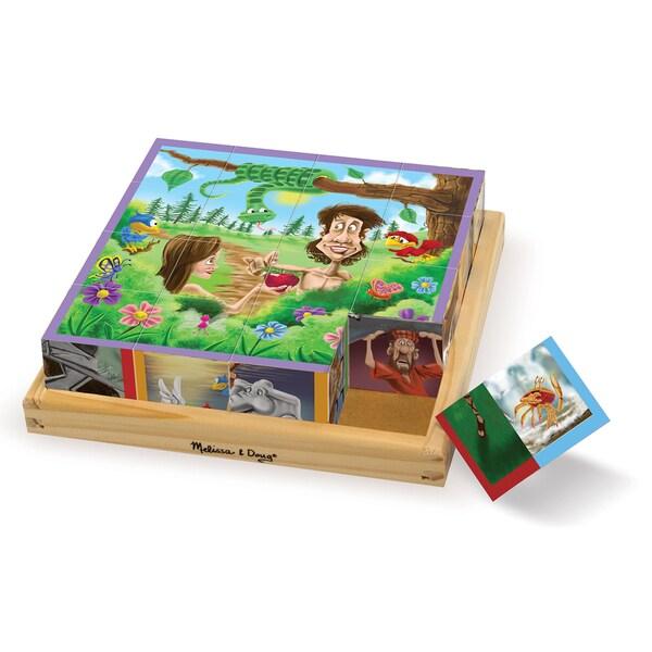Melissa & Doug Old Testament Cube Puzzle 27684541