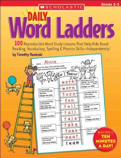 Daily Word Ladders Grades 2-3 (Paperback)