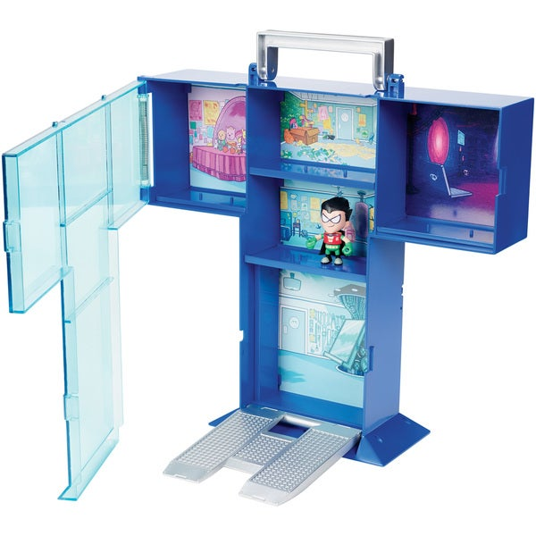 Teen Titan Go! Tower Mini Figure Display Case with Mini Figure 27691244