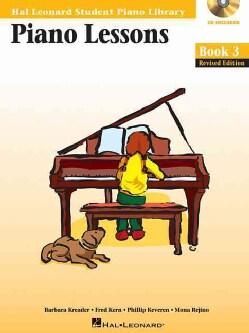 Piano Lessons Book 3: Hal Leonard Student Piano Library