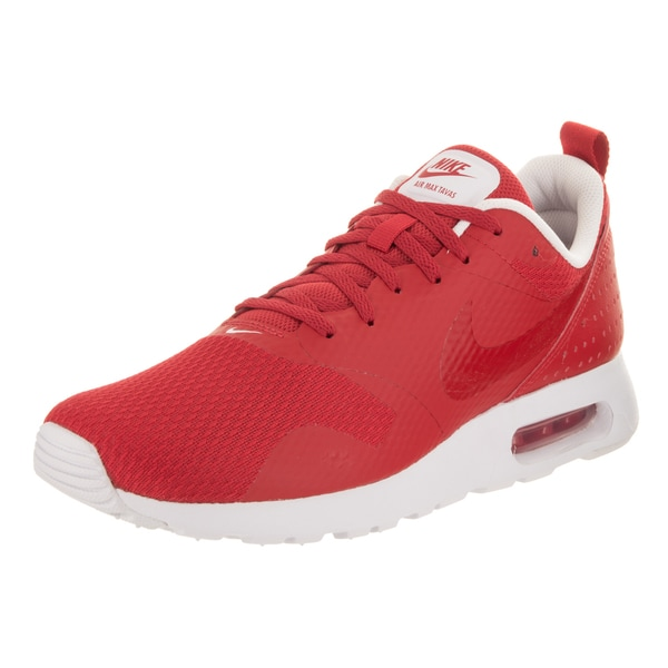 Nike Men's Air Max Tavas Red Running Shoes 27705425