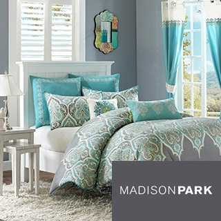 Madison Park Tara 5-piece Cotton Duvet Cover Set