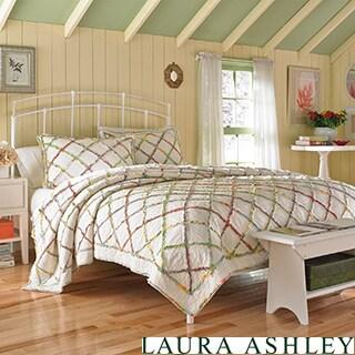 Laura Ashley Ruffled Garden Quilt