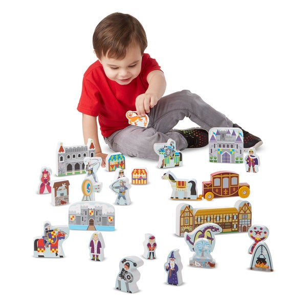 Melissa & Doug Wooden Castle Play Set 27737104