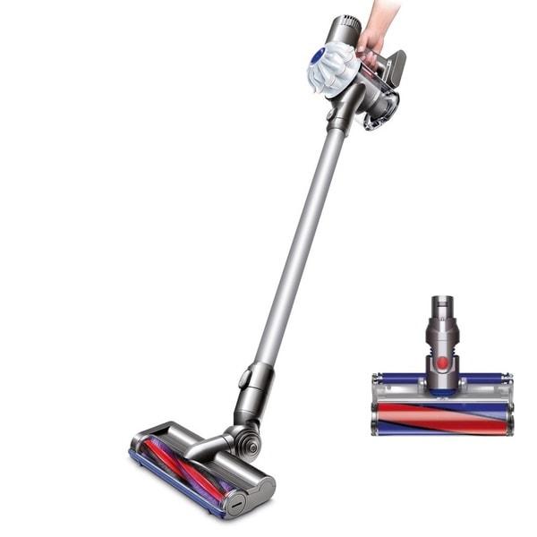 Dyson V6 Origin Cord-Free Vacuum + Bonus Soft Roller Cleaner Head (Refurbished) 31387496