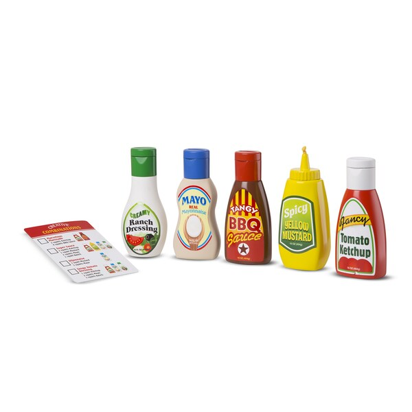 Melissa & Doug Favorite Condiments 27740489