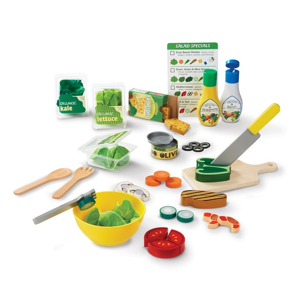 Melissa & Doug Slice & Toss Salad Set 27740503