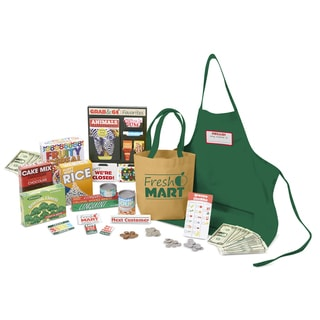 Melissa & Doug Fresh Mart Grocery Store Companion Collection, Play Sets & Kitchens, Multiple Role Play Items