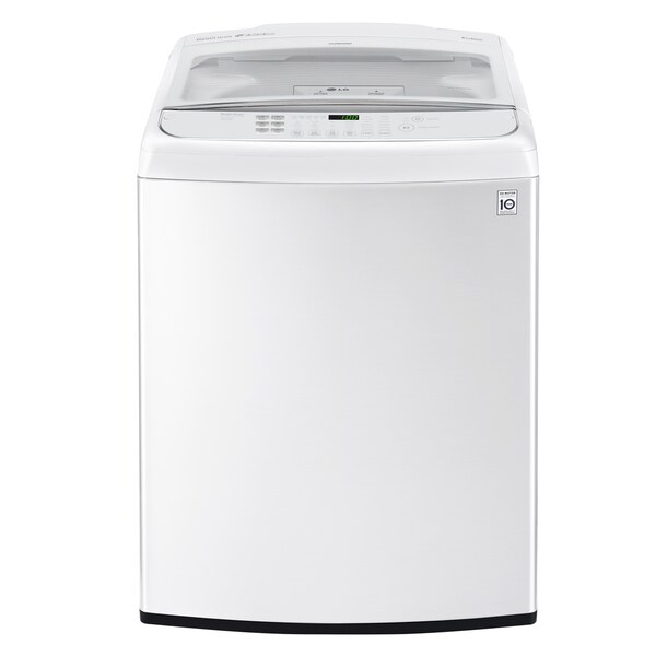 LG WT1901CW 5.0 cu. ft. Ultra Large Capacity Front Control Top Load Washer with TurboWash in White 27752724