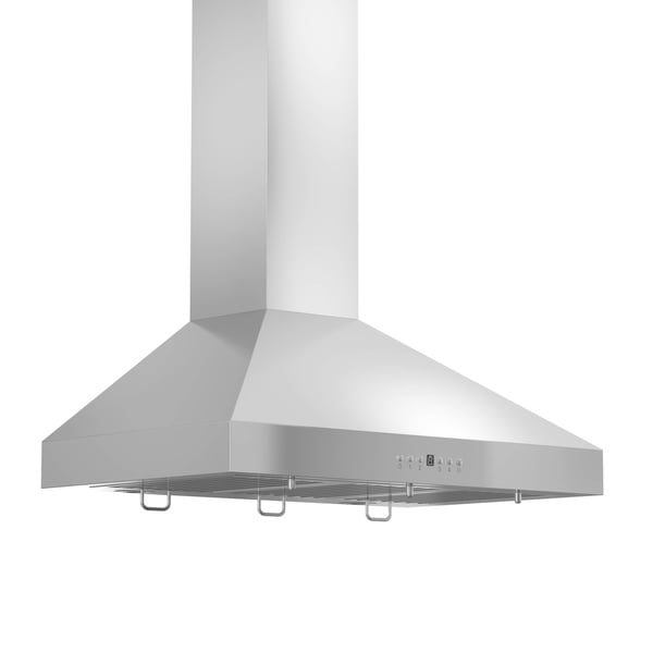 ZLINE 36 in. 400 CFM Wall Mount Range Hood in Stainless Steel (KL3-36-400) - Silver 27766499