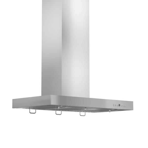 ZLINE 30 in. 400 CFM Wall Mount Range Hood in Stainless Steel (KE-30-400) - Silver 27767659