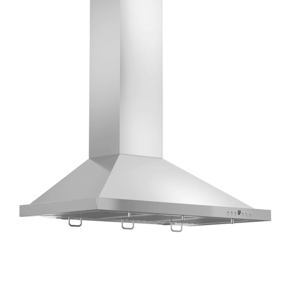 ZLINE 30 in. 400 CFM Wall Mount Range Hood in Stainless Steel (KB-30-400) - Silver 27767662