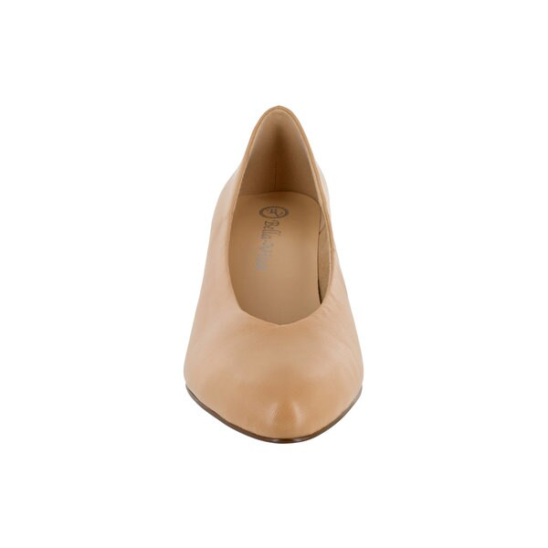 Bella Vita Women's Jensen Pump (Nude Leather) 27786289