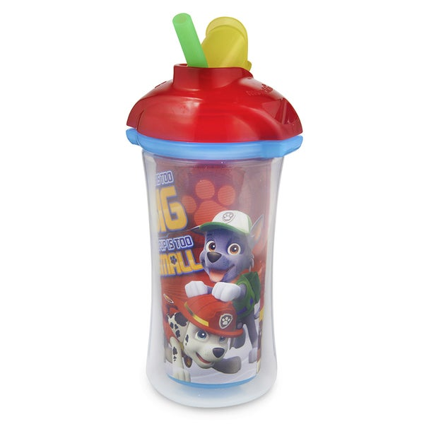 Munchkin Paw Patrol 9-ounce Red Click Lock Insulated Straw Cup 27789005
