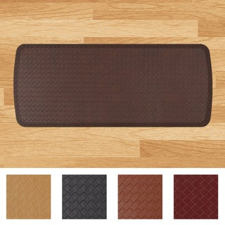 GelPro Elite Basketweave 20 x 48-inch Anti-Fatigue Kitchen Comfort Mat