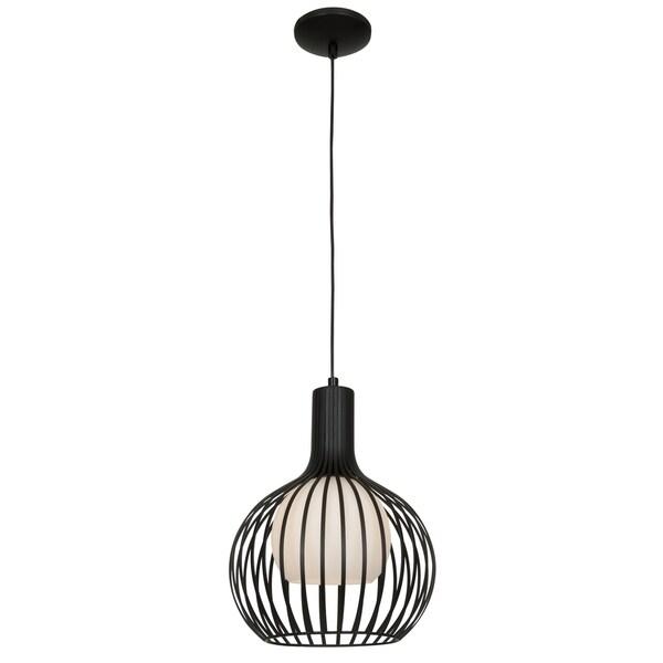 Access Lighting Chuki 1-light 12-inch Black Pendant 27824305