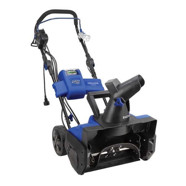 Snow Joe iON 40-Volt Single Stage Brushless Cordless + Electric Hybrid Snow Blower 27855243
