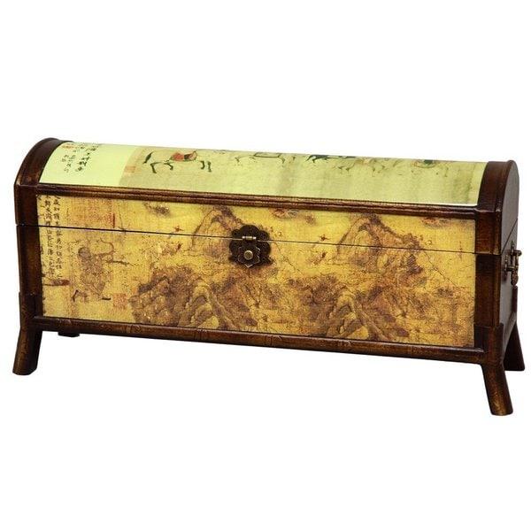 Wooden Galloping Horse Storage Box (China)