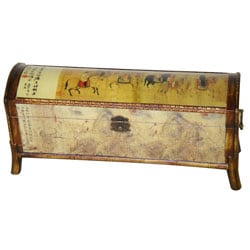 Wooden Galloping Horse Storage Box (China)